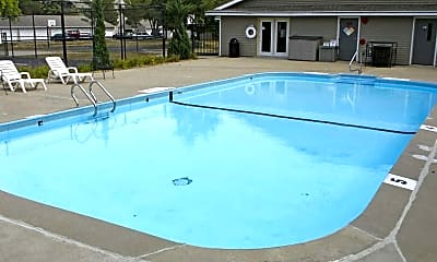 Pool, Sutton Hill Apartments, 1