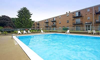 Pool, Fox Run Apartments, 0