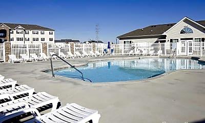 Pool, Woodland Heights of Burlington, 1