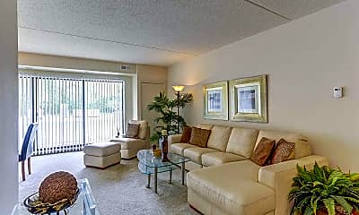 Living Room, Kimberly Park Apartments, 0