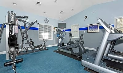 Fitness Weight Room, Ivymount Apartments, 2