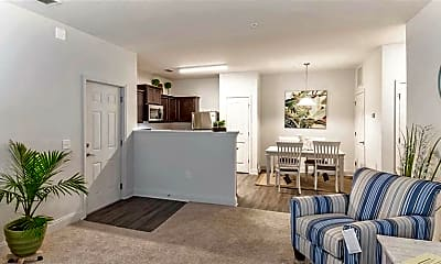 Living Room, Latitude at Richmond Hill, 1
