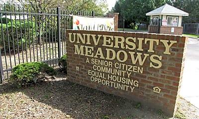 University Meadows, 1
