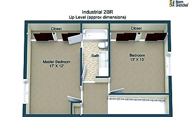 Bedroom, 1819 Industrial St, 2