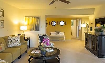 Living Room, Bay Hills Apartments, 0