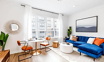 Living Room, 112 Hoboken Ave, 1
