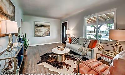 Living Room, 4860 Eliot St, 0