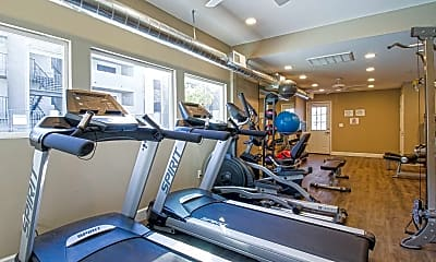 Fitness Weight Room, Royal Oaks, 2