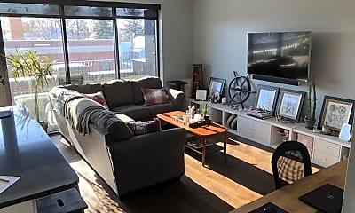 Living Room, Skye Flats, 0