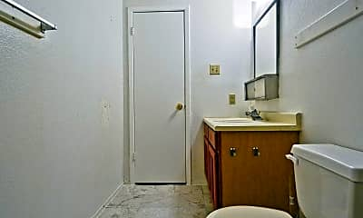 Bathroom, Kerrville Plaza Apartments, 2