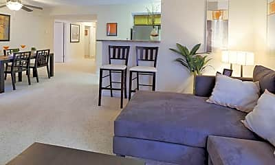 Living Room, The Parc At Cherry Creek, 1
