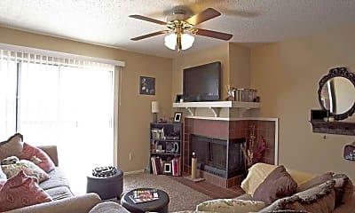 Living Room, Village Apartments Conway AR, 1