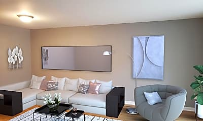 Living Room, Audubon Living, 2