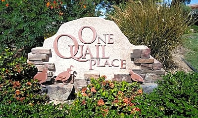 One Quail Place, 1