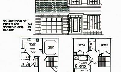 Building, 2512 Blossom Trail W, 1