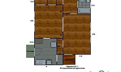 Living Room, 4155 Magnolia Ave, 1