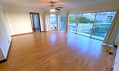 Living Room, 1645 Ala Wai Blvd, 1