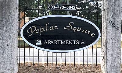 Poplar Square Apartments, 1