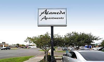 Community Signage, Alameda Apartments, 2