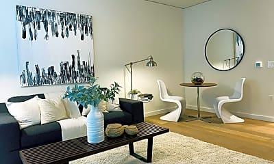 Living Room, 450 S Main St, Unit , Seattle, Washington, 98104, 1
