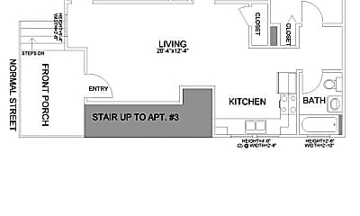 Building, 306 N Normal St, 2