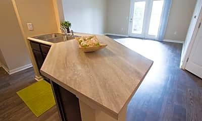 Kitchen, The Vue at Bellevue, 1