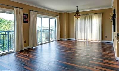 Living Room, 5 Park Pl 706, 1