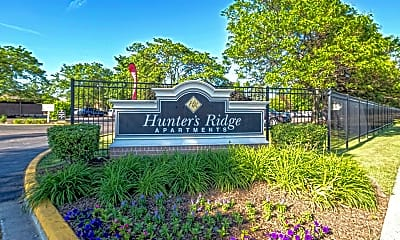 Community Signage, Hunter's Ridge Apartments, 1