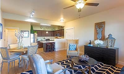 Living Room, Meadows at Park Avenue Apartments, 1