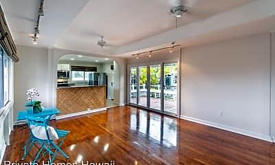 Living Room, 1087 Keolu Drive, 1