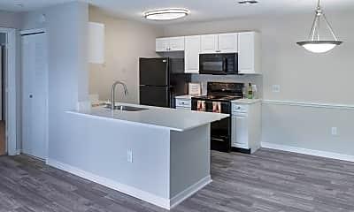 Kitchen, Central Park Apartments, 0