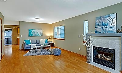 Living Room, 6420 SE 129th Place, 1