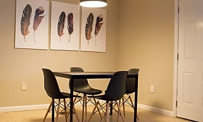 Dining Room, Room for Rent -  a 5 minute walk to bus 49, 1