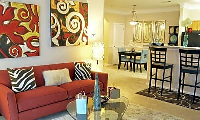 Living Room, Edgewater Vista, 0