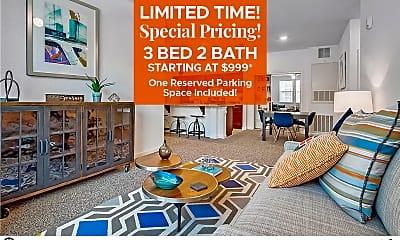 Living Room, Lake Sumter Apartments, 0