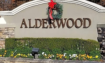 Community Signage, 8800 Alderwood Way, 2