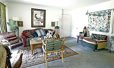 Living Room, Hampshire Court, 1