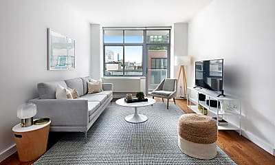 Living Room, 260 W 26th St 8-G, 1
