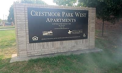 Crestmoor Park West Apartments, 1
