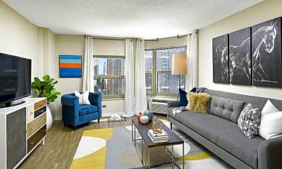 Living Room, Chestnut Place, 1