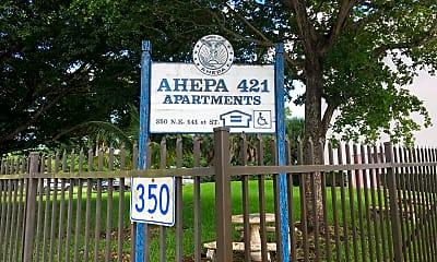Ahepa 421 Apartments, 1