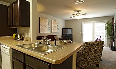 Kitchen, The Villas of Searcy, 0