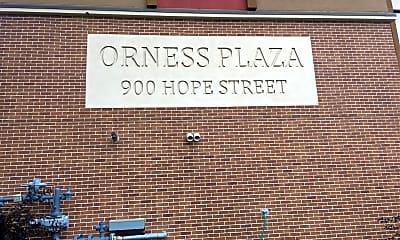 Orness Plaza, 1