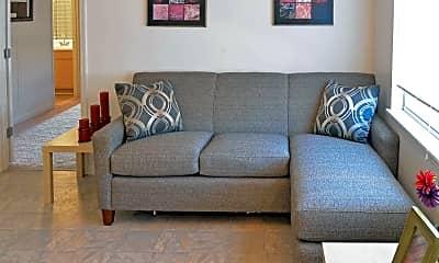 Living Room, Seasons Apartments, 1