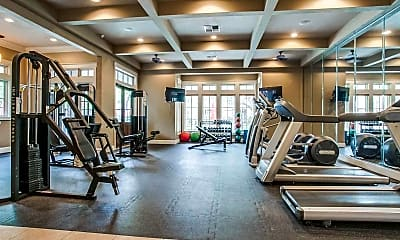 Fitness Weight Room, Arboretum Estates, 1