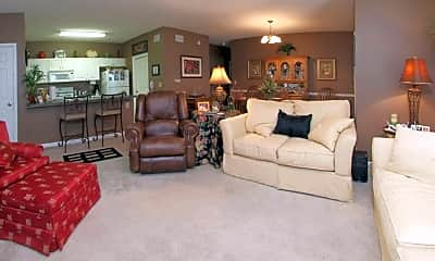 Living Room, Greystone Creekwood, 1