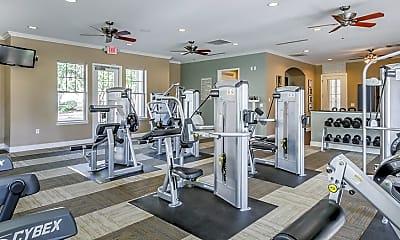 Fitness Weight Room, MAA Ayrsley, 2