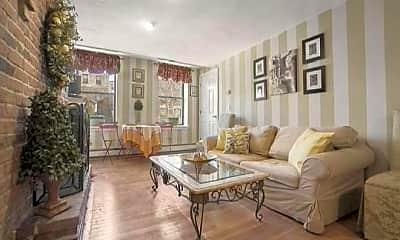 Living Room, 206 Endicott St, 2