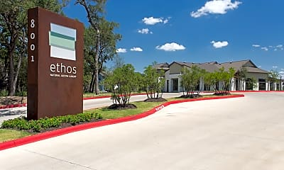 Community Signage, Ethos Apartments, 0