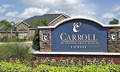 Community Signage, Carroll at Shadow Creek Ranch, 2